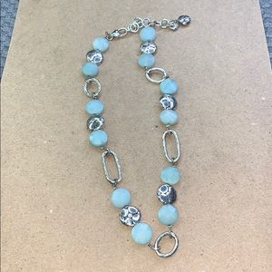 Brighton Blue and Silver Necklace